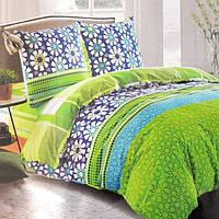 Комплект постельного белья из сатина  Summer - 5046