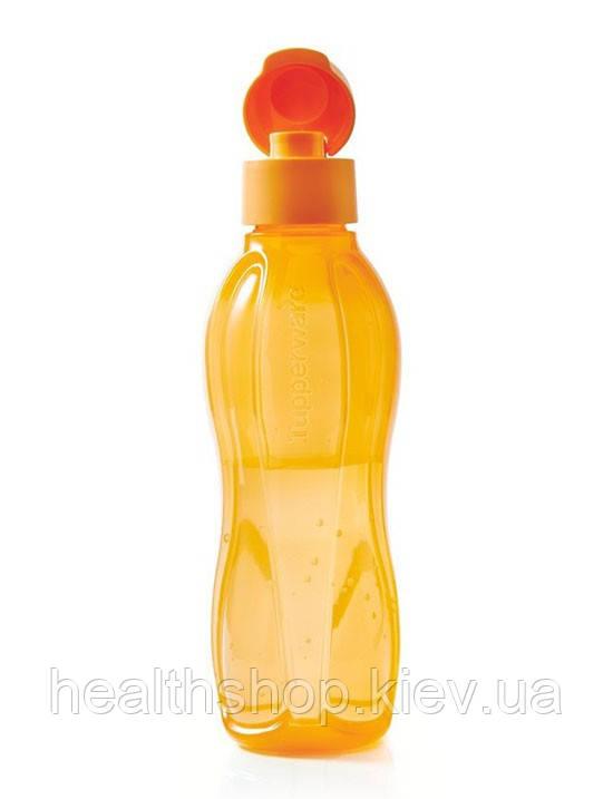 Еко-пляшка (750 мл) з клапаном, багаторазова пляшка для води Tupperware (Оригінал)