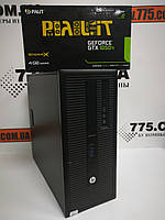 Компьютер HP 800 G1 (Tower), Intel Core i3-4130 3.4GHz, RAM 8ГБ, SSD 120GB + HDD 500ГБ, GeForce GTX 1050Ti 4ГБ, фото 1