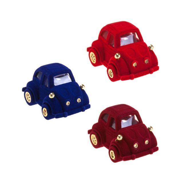"""Футляр """"Машина"""" Boxshop под кольцо, бархатный, для ювелирных изделий, 667357512"""