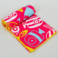 Полотенце для пляжа SPORTS TOWEL, полиэстер, р-р 80х160см., розовый (B-FBT-(pnk))