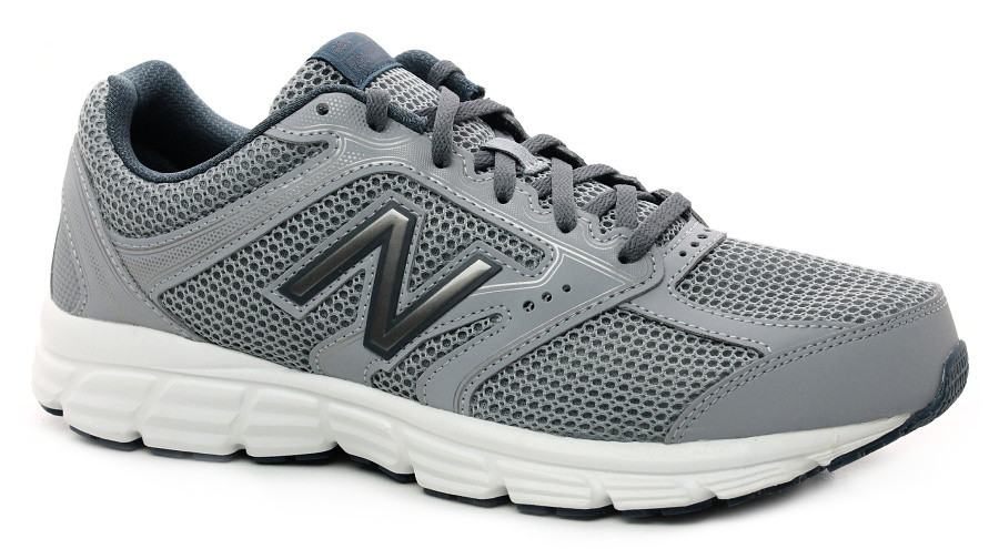 Оригинальные летние серые кроссовки New Balance 460 в сетку M460CD2