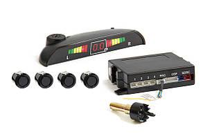 Автомобильный парктроник, Парковочный радар на 4 датчика с LED дисплеем