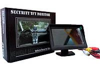 """Автомобильный монитор (экран) Security TFT Monitor LCD 5"""" для двух камер"""