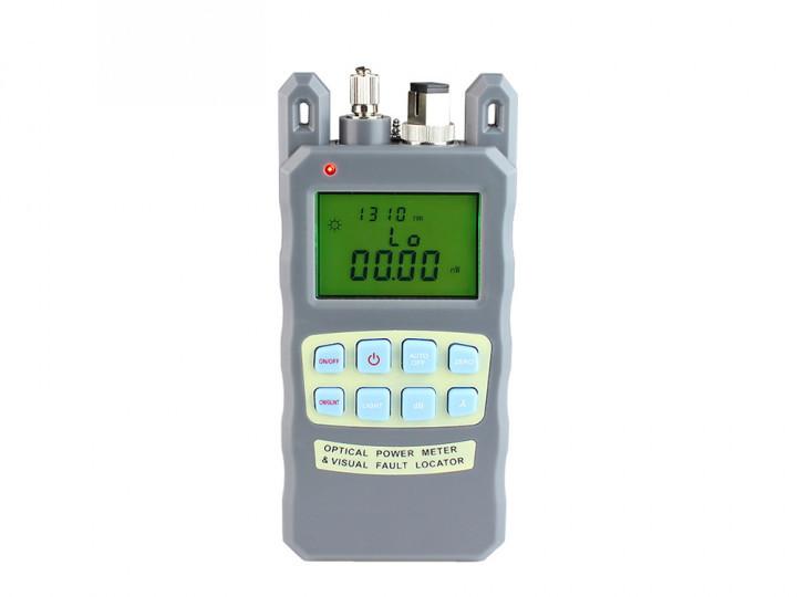 Вимірювач оптичної потужності з локатором оптоволокна 10мВт 2в1