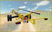 Тележка для транспортировки жаток «CARELLO-1» (одноосная)