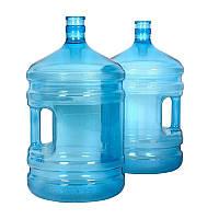 Бутыль для воды 19 л поликарбонат с ручкой