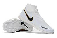 Футзалки (бампы) Nike Phantom Vision Academy DF IC White/Gold, фото 1
