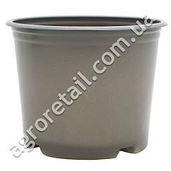 Пластиковый горшок для рассады с перфорацией 90 мм