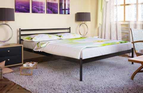 Кровать металлическая Флай / Fly, фабрика Метакам, фото 2