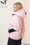 Женская демисезонная куртка Рука 3-4 Плащевка лаке на синтепоне Размер 50 52 54 56 58 60 Разные цвета, фото 2