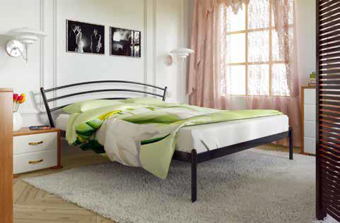 Кровать металлическая Марко фабрика Метакам