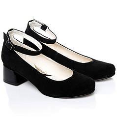 Туфли La Rose 2247 41(26,7 см) Черная замша