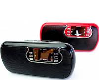 Портативная активная колонка Atlanfa AT-6526 AUX Мр3 USB MicroSD Выход mini jack 3,5 Li-ion аккумулятор