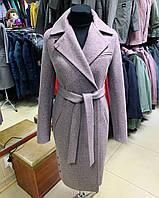 Молодёжное пальто женское из кашемира