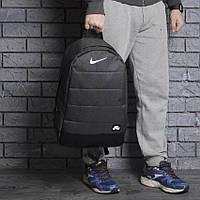 Спортивный городской рюкзак NIKE AIR, модный портфель Найк темно-серый меланж