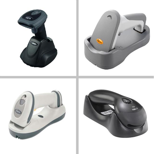 Ручные сканеры штрихкода (беспроводные)