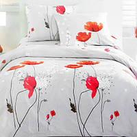 Комплект постельного белья из сатина  Poppy Flower - 5039