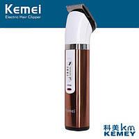 Бритва Kemei Машинка для стрижки волос и бороды, Триммер для бороды, Беспроводная машинка для стрижки