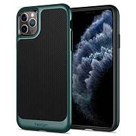 Чехол Spigen для iPhone 11 Pro Max Neo Hybrid, Midnight Green (ACS00415), фото 1