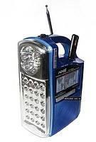 Радио с фонарем Atlanfa NNS NS-040U Радиоприемник FM, AM, SW, USB, CardReader Лампы LED Радио для рыбалки