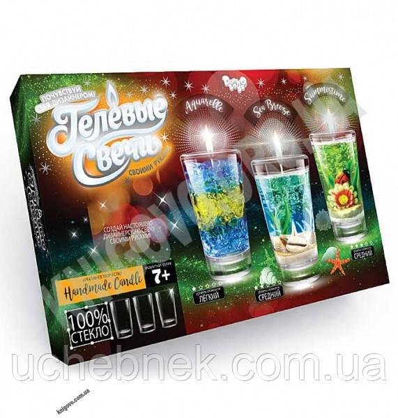Набор Гелевые свечи своими руками 3 уровня сложности Код GS0202 Изд: Danko Toys