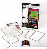 Раскраска карандашами по номерам Тигр Код: PBN-01-07 Изд: Danko Toys, фото 2