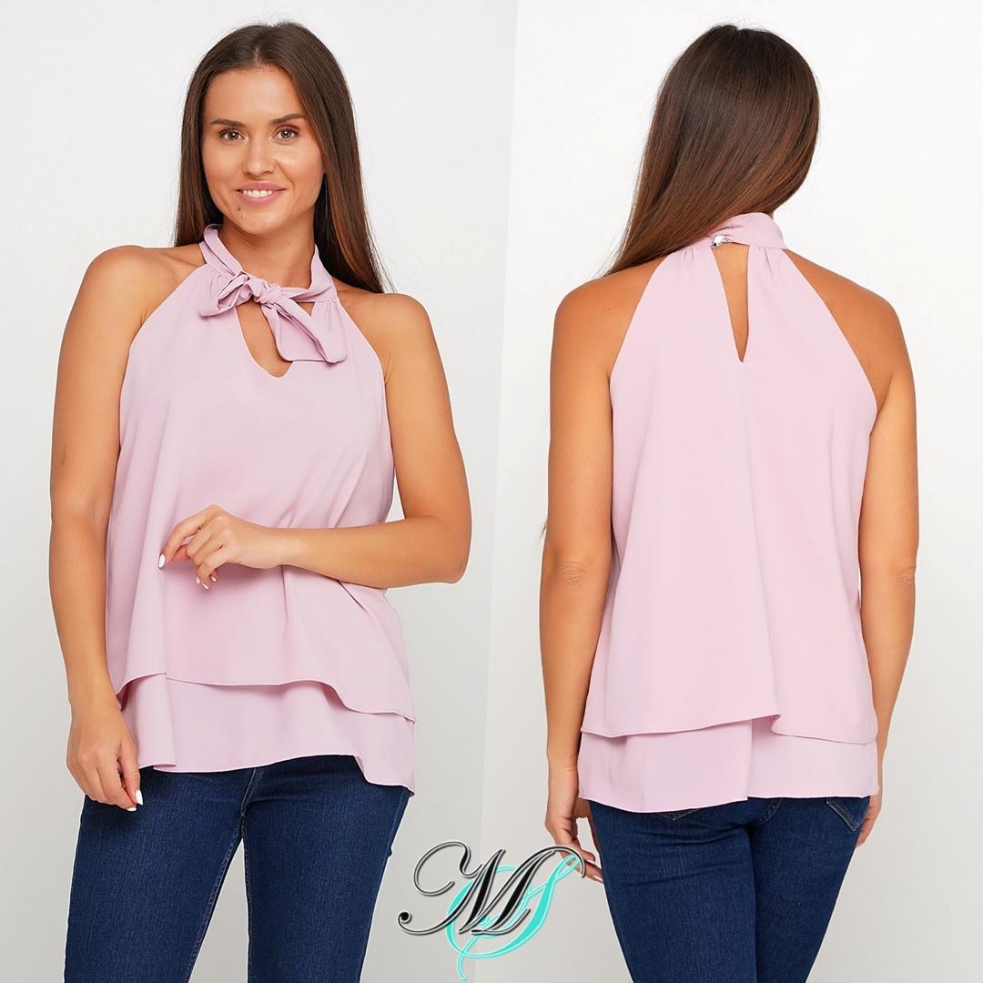 Элегантная женская блузка ,отличное качество! (2расцв) 42,44,46р.