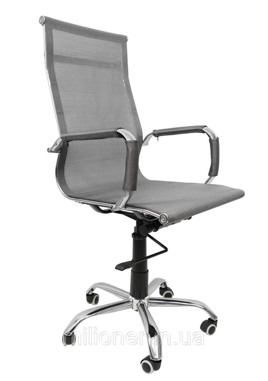 Кресло Bonro B-610 серый