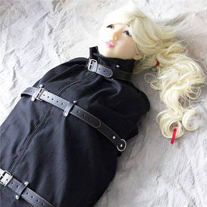 Бандаж смирительный с кожаными ремнями, фото 2