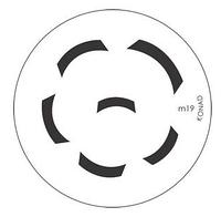 Диск для стемпинга Konad Image Plate M019