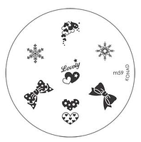 Диск для стемпинга Konad Image Plate M059, фото 1