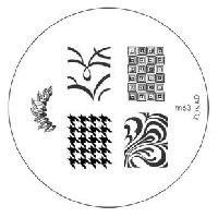 Диск для стемпинга Konad Image Plate M063, фото 1