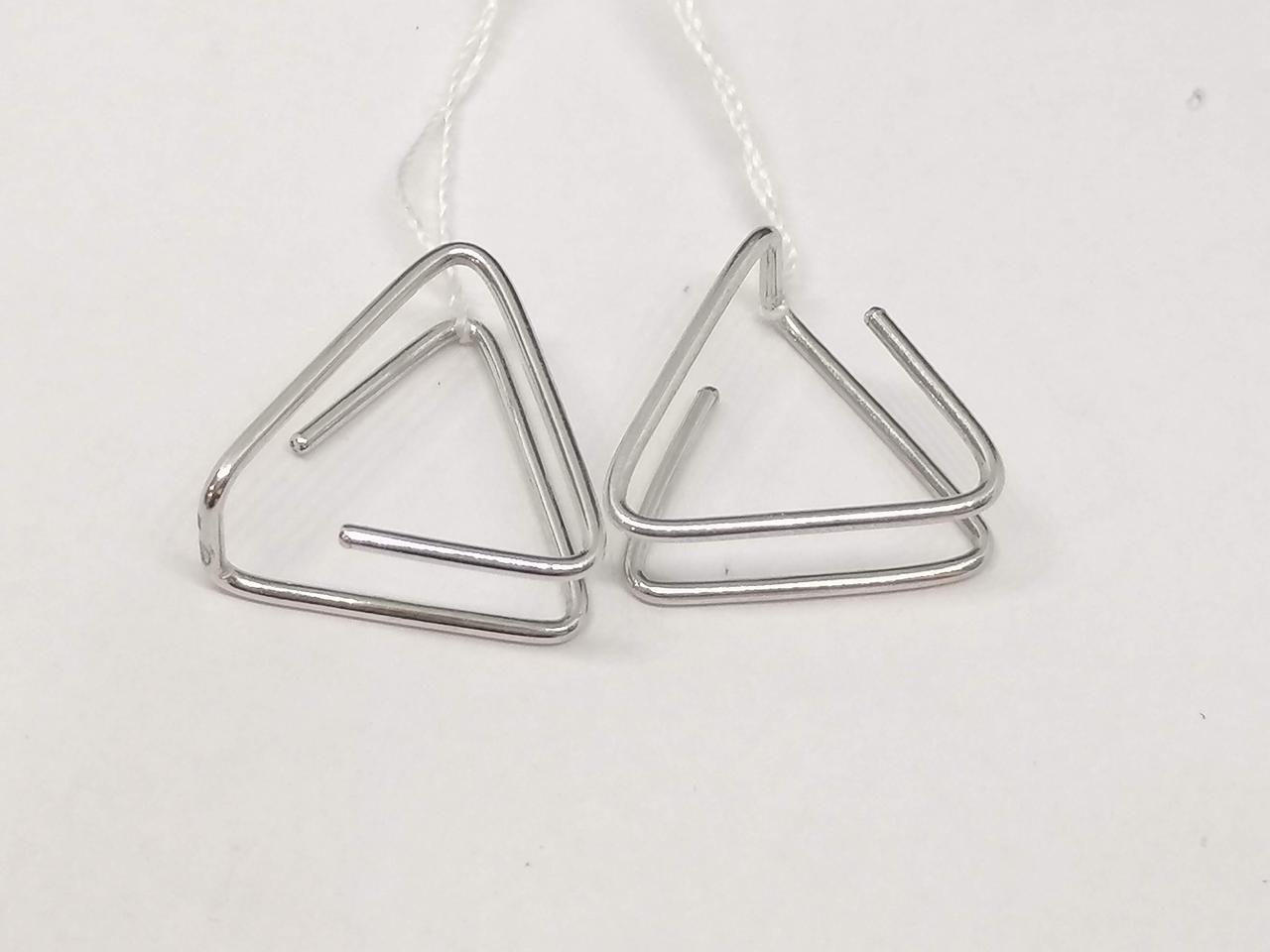 Серебряные серьги. Артикул 4975