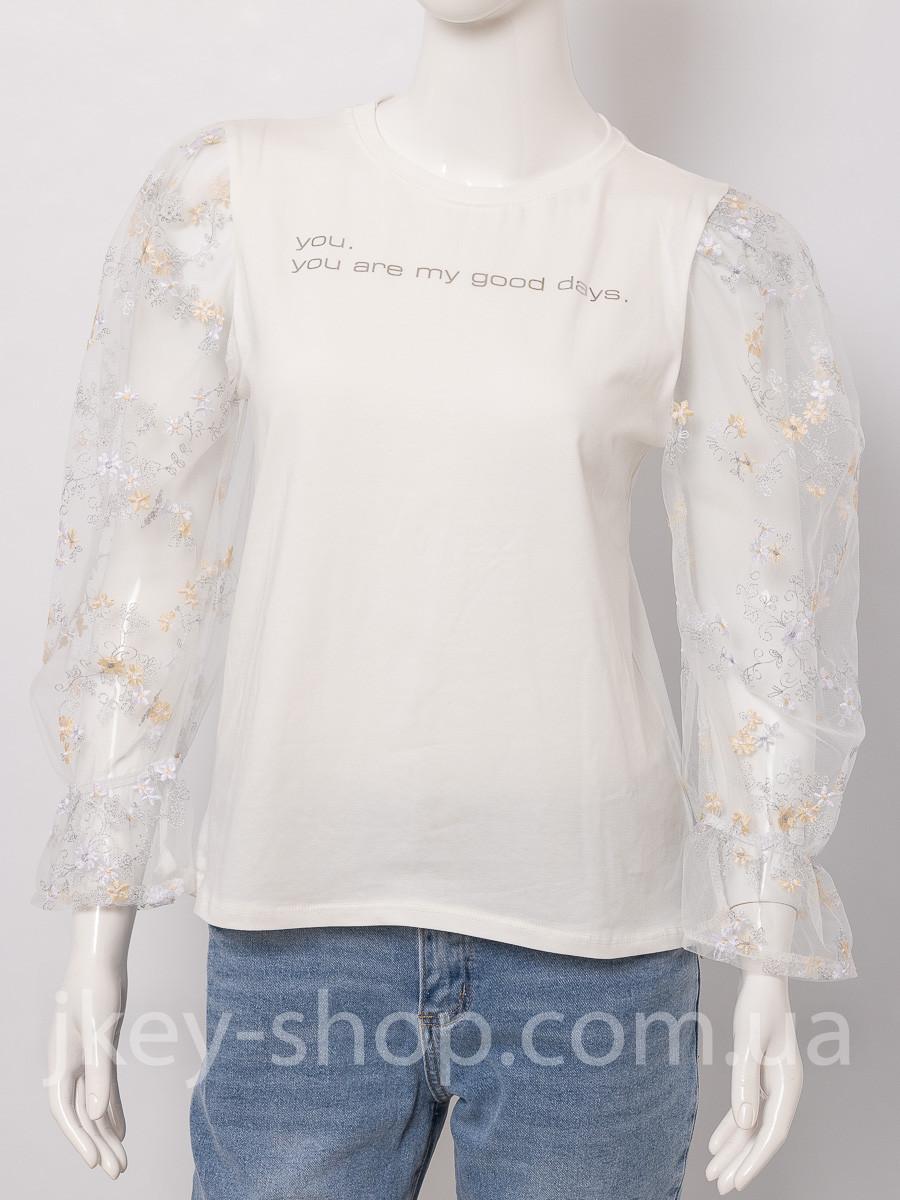 Блуза женская MIHOS D821 ECRU