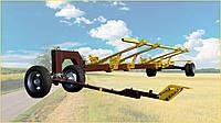 Тележка для транспортировки жаток «CARELLO-2» (двуосная), фото 1