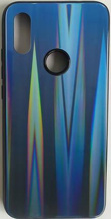 """Силіконовий чохол """"Скляний Shine Gradient"""" Xiaomi Redmi 7 (Deep Blue) №10, фото 2"""