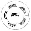 Диск для стемпинга Konad Image Plate M044