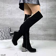Сапоги ботфорты для женщин, фото 2