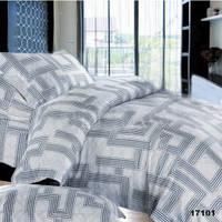 Полуторный комплект постельного белья Лабиринт Простыня на резинке