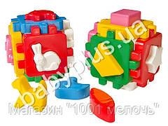 Развивающая игра Куб Умный малыш Веселая компания. Технок 1950