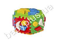 Развивающая игра Куб Умный малыш Гиппо. Технок 2445