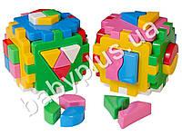 Развивающая игра Куб Умный малыш Комби. Технок 2476