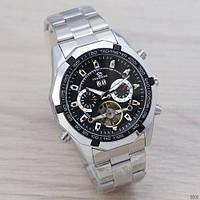 Наручные часы Forsining 340 Silver-Black