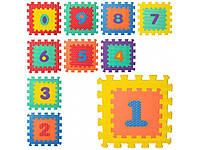 Детский развивающий коврик-пазл Мозаика Цифры. M 5731