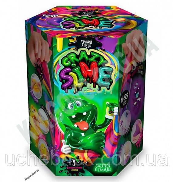 Безопасный образовательный набор для проведения опытов Crazy Slime Ручной лизун Код: SLM0101 Изд: Danko Toys