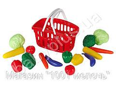 Набор Овощи в корзинке. Toys-plast ИП.18.003
