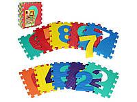 Детский развивающий коврик-пазл Цифры. M 2608