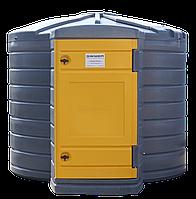 Мини АЗС Резервуар Swimer 3500 л (емкость, бочка) для дизельного топлива ДТ с узлом раздачи Piusi