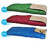 Спальник одеяло Abarqs K-950 цвет синий Спальный мешок